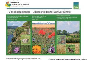"Präsentation Projekt ""Lebendige Agrarlandschaften"""